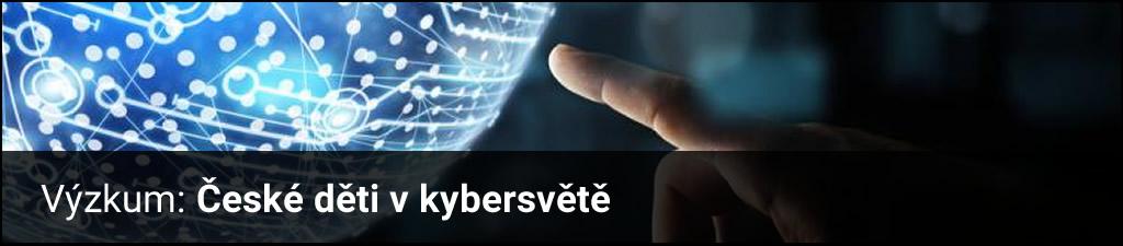 České děti v kybersvětě