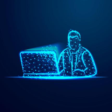 mini manwithcomputer